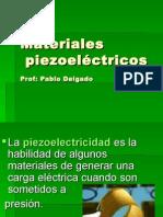 Materiales Piezoeléctricos