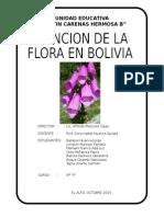 Flora en Bolivia