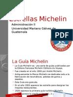 Estrellas Michelin y Distintivo H