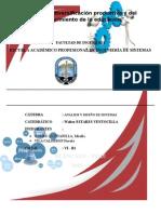 Analisis y diseño de un Sistema de una Pasteleria