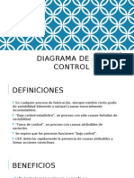 Diagrama de Control