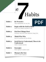 1 Habits List