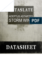 Dataslate Storm Wing