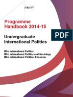 Programme Handbook 2014-15_UG International Politics_3