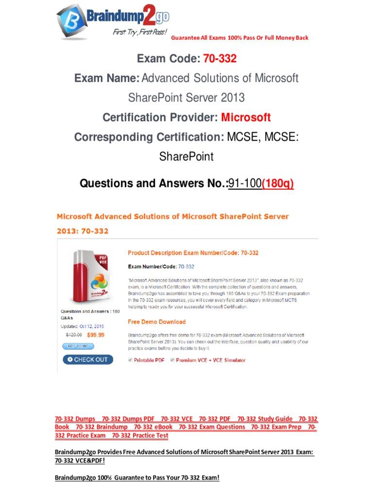 Mcitp 70-663 Exam Ref Pdf Download