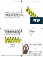 advanced technology - water pump archimedes screw part design 1 drawing  2015 8 5