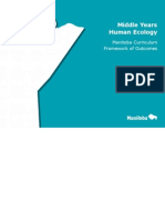 middle years human ecology curriculum