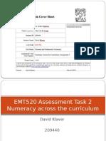 klaverd emt520 numeracyacrossthecurriculum
