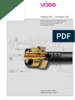 Katalog Voss Stecksystem 232