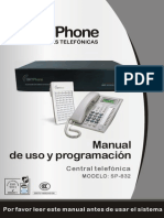 Manual Completo Uso Programacion Skyphone Sp 832