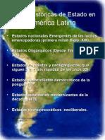 3Formas Históricas de Estado en América Latina