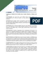 DECLARACION DE TIQUIPAYA