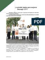 28.06.2014 Gobierno y Sociedad, Juntos Para Mejorar Durango EVV