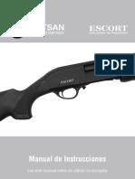 Escort Pump Action Shotgun Es