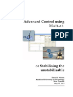 Advanced Control Using Matlab