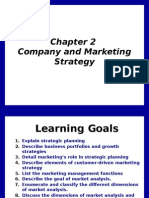 Chapter 2 Company and Marketing Strategy