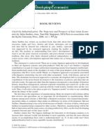 Thein 2009 the Developing Economies