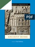 Companion to Ancient Rome