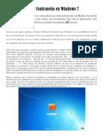 Anular Contraseña en Windows 7 Extendido