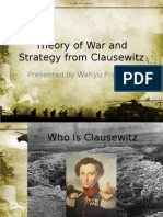 Theory of War and Strategy From Clausewitz