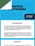 Gestion , matriz decisional de empresa