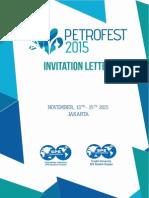 Invitation Letter Petrofest 2015