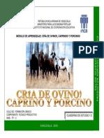 Cria de Ovino, Caprino y Porcino 1-2