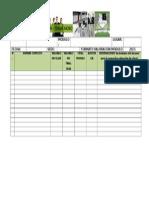 Planilla de Asistencia y Notas Por Clase 2015