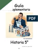 Guía Historia 5° grado  15-16