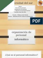 Organización de Personal