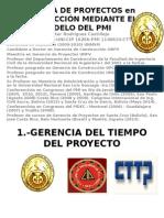LA GERENCIA DE TIEMPO Y COSTO 24 Y 25 MAYO 2014.ppt