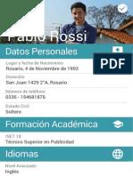Pablo Rossi CV