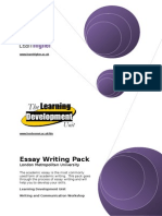 Essay Writing Pack