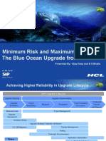 Achieving Maximum Reliability in Upgrades - HCL SAP Blue Ocean Upgrade ver 4a 03Marcomm.ppt