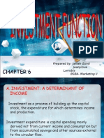 Investment Function 2