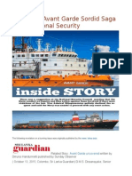 Sri Lanka Avant Garde Sordid Saga & the National Security