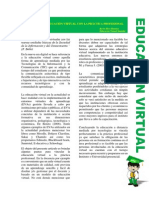 Vincular la educación virtual con la práctica profesional