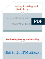 Multicasting Routing and Switching