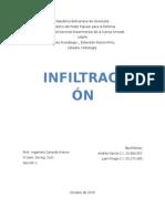 infiltración-hidrologia