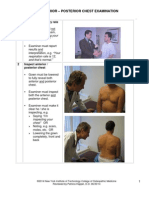 Anterior-Posterior Chest Exam Photoguide