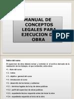 Manual de EJECUCION de Obra Publica