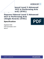UA035247 GCE in Performing Arts (Single Awd) Issue 4
