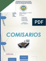 Comisarios en Ecuador