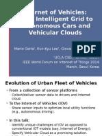 Internet Of Vehicles