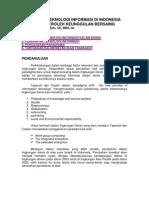 Makalah Informatika - Penerapan Teknologi Informasi Di Indonesia