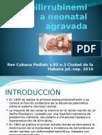 Hiperbilirrubinemia Neonatal Agravada