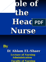 Role of the Head Nurse