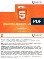 All About HTML5 & CSS3, History & Advantages