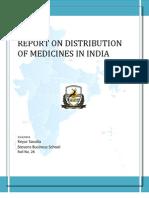 Pharmaceutical Distribution in Inida