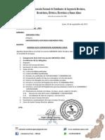 012-2015 Agenda Unsa